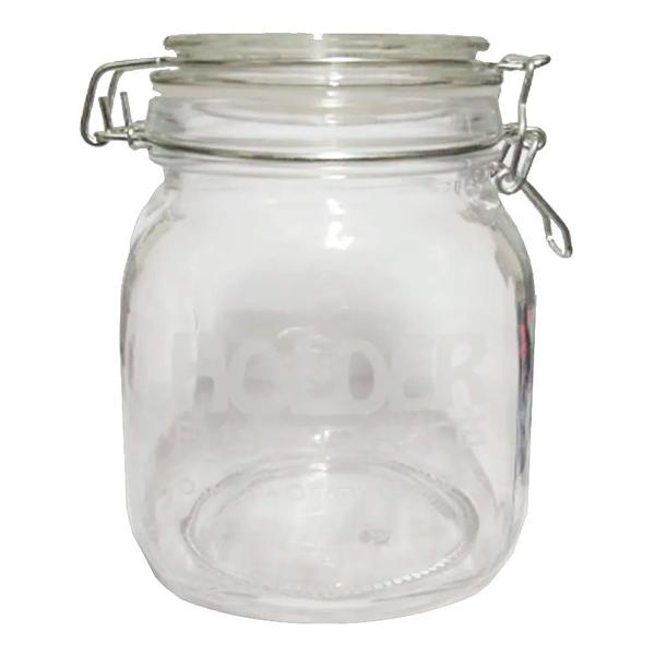 Pote Hermético de Vidro - Holder (1 Litro)  - Mr. Fumo