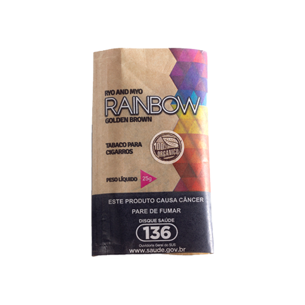 Tabaco Rainbow Organic  - Mr. Fumo