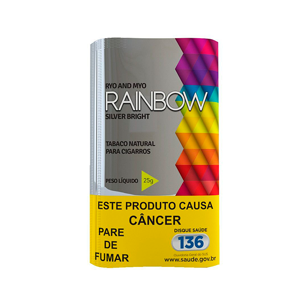 Tabaco Rainbow Silver Bright  - Mr. Fumo