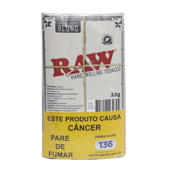 Tabaco RAW Blond  - Mr. Fumo
