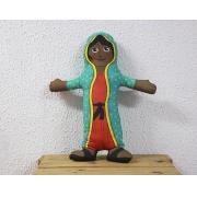 Almofada Boneco de Santo - Nossa Senhora de Guadalupe