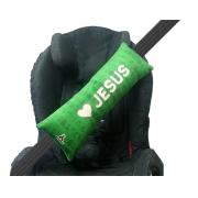 Almofada Cinto De Segurança - Amo Jesus