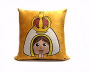 Almofada Quadrada - Infantil - Nossa Senhora de Fátima