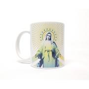 Caneca de Porcelana - Nossa Senhora das Graças Raio de Luz