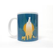 Caneca de Porcelana - Nossa Senhora de Fátima Estrela Brilhante