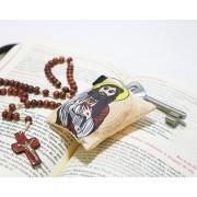 Chaveiro Almofadinha Ilustração Jesus