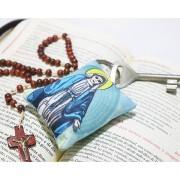 Chaveiro Almofadinha Ilustração Nossa Senhora das Graças