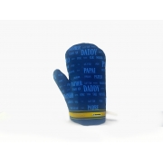 Luva Térmica de Cozinha - Papai Idiomas (Azul)