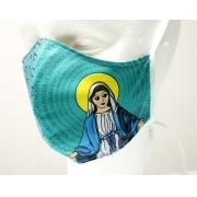 Máscara de Proteção Bico de Pato (EPI) - Ilustração Nossa Senhora das Graças