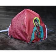 Máscara de Proteção Bico de Pato (EPI) - Ilustração Nossa Senhora de Guadalupe