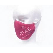 Máscara de Proteção Bico de Pato (EPI) - Minha Mãe, Minha Rainha (Rosa)