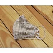 Máscara de Proteção Bico de Pato (EPI) - Veludo - Bons Desejos