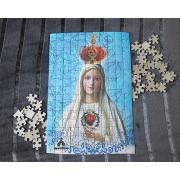Quebra-Cabeça (42 x 29 cm) - Nossa Senhora de Fátima