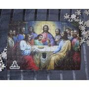 Quebra-Cabeça (42 x 29 cm) - Santa Ceia