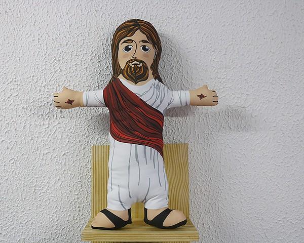 Almofada Boneco de Santo - Jesus