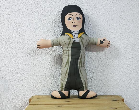 Almofada Boneco de Santo - Santa Teresinha