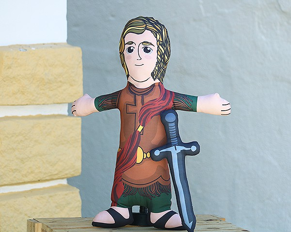 Almofada Boneco de Santo - São Miguel