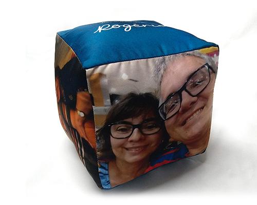 Almofada Cubo - Dia dos Namorados - Para Meu José