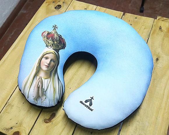 Almofada de Pescoço - Imagem Nossa Senhora de Fátima