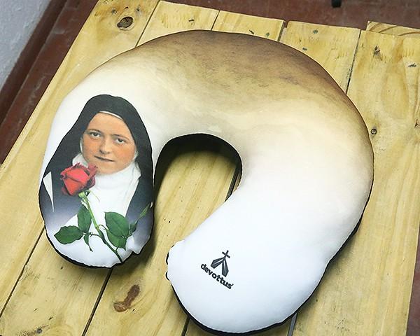 Almofada de Pescoço - Imagem Santa Teresinha