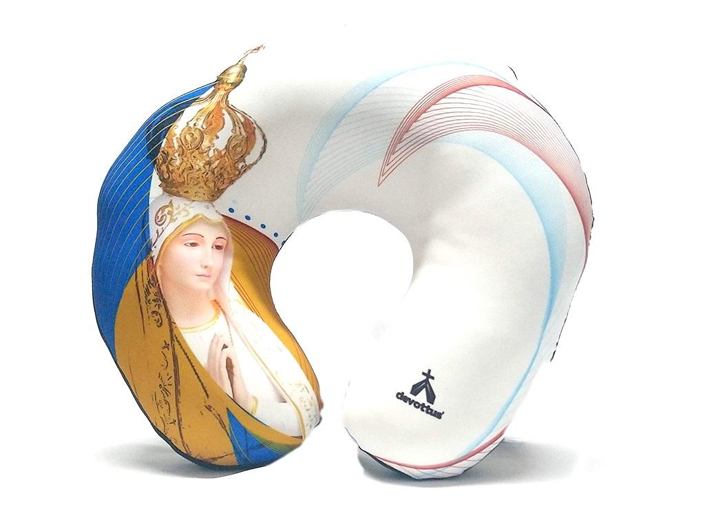 Almofada de Pescoço - Nossa Senhora de Fátima e a Lua
