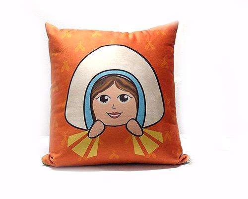 Almofada Quadrada - Infantil - Nossa Senhora das Graças