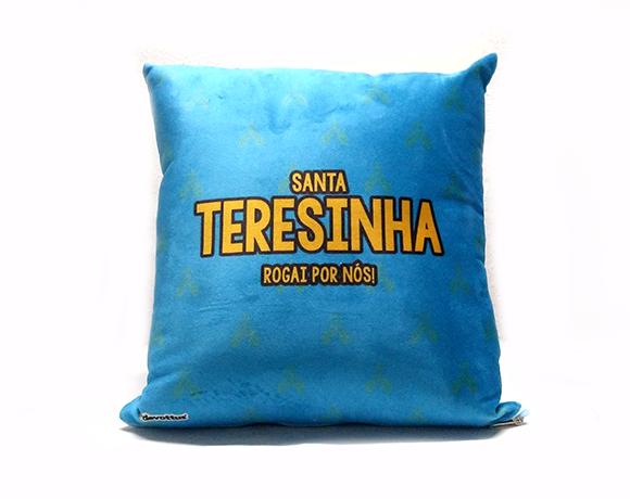 Almofada Quadrada - Infantil - Santa Teresinha