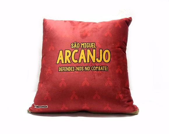 Almofada Quadrada - Infantil - São Miguel Arcanjo