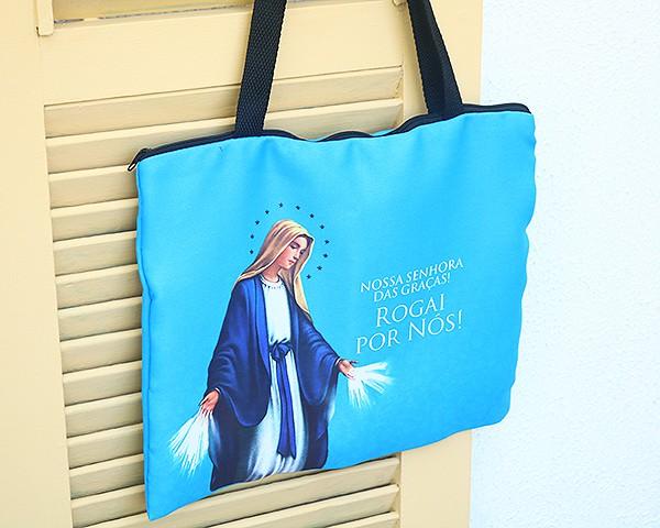 Bolsa Ecobag - Rogai por Nós Nossa Senhora das Graças