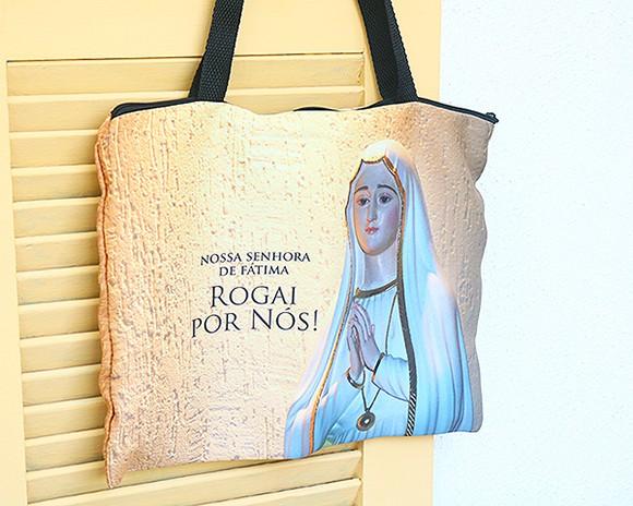 Bolsa Ecobag - Rogai por Nós Nossa Senhora de Fátima