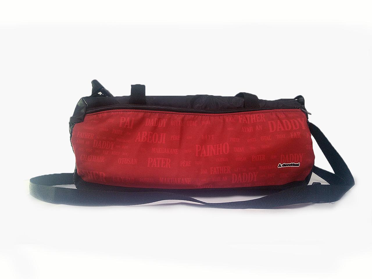 Bolsa Esportiva Bieta - Papai Idiomas (Vermelha)