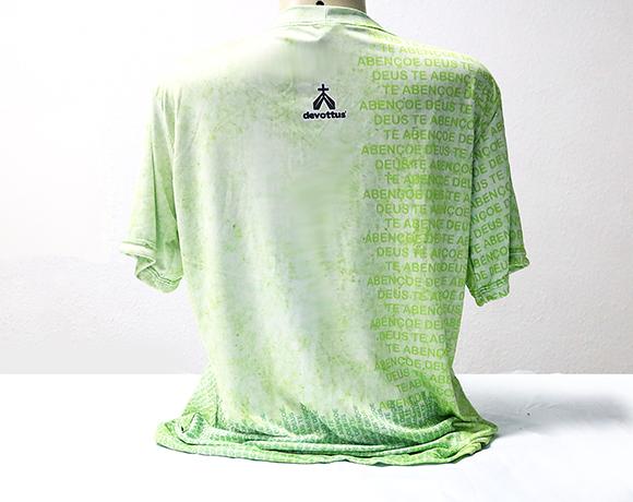 Camiseta Dryfit Esportivo - Frases populares - DEUS TE ABENÇOE