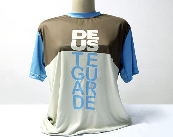 Camiseta Dryfit Esportivo - Frases populares - DEUS TE GUARDE