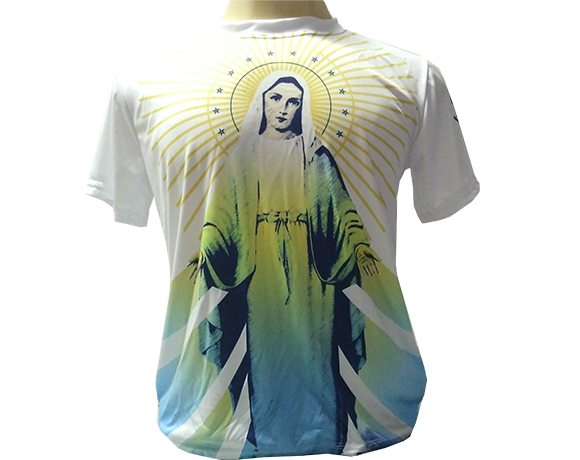 Camiseta Dryfit Esportivo - Nossa Senhora das Graças Raio de Luz