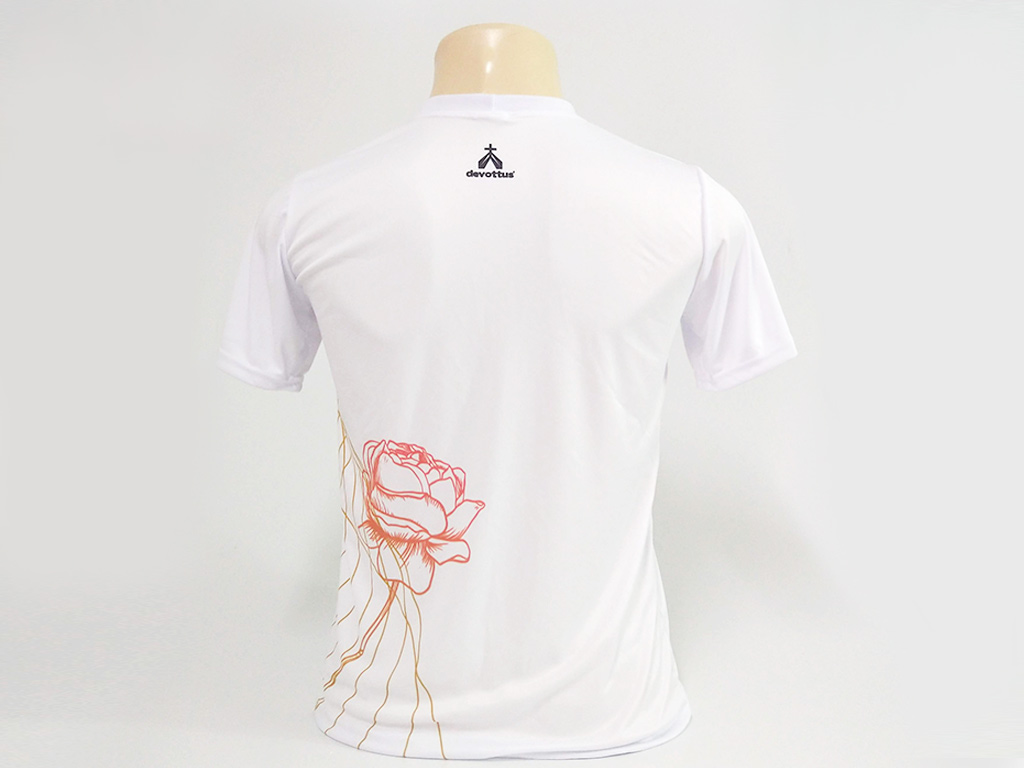 Camiseta Dryfit Esportivo - Santa Teresinha Viver de Amor