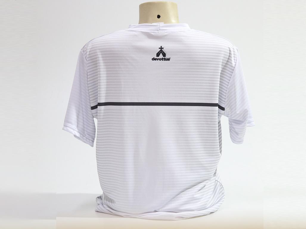 Camiseta Dryfit Esportivo - São Bento Listras - Branca