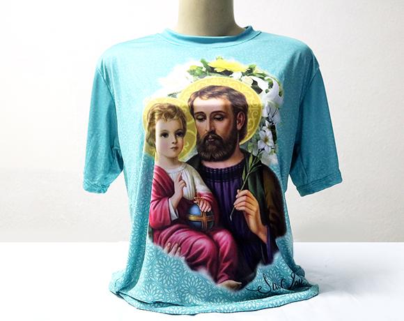 Camiseta Dryfit Esportivo - SÃO JOSÉ LÍRIO
