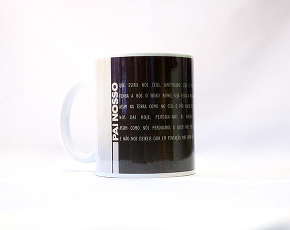 Caneca de Porcelana - Frases Populares - PAI NOSSO