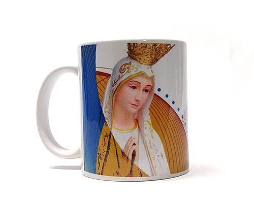 Caneca de Porcelana - Nossa Senhora de Fátima e a Lua