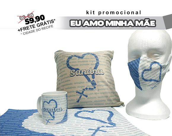 Caneca de Porcelana - Valor de Mãe (Azul)