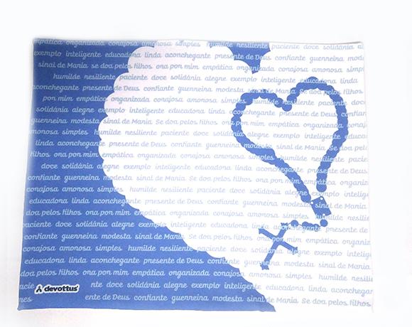 Jogo Americano - Valor de Mãe (Azul)