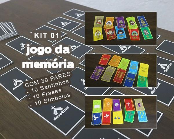KIT Jogo da memória (30 PARES)