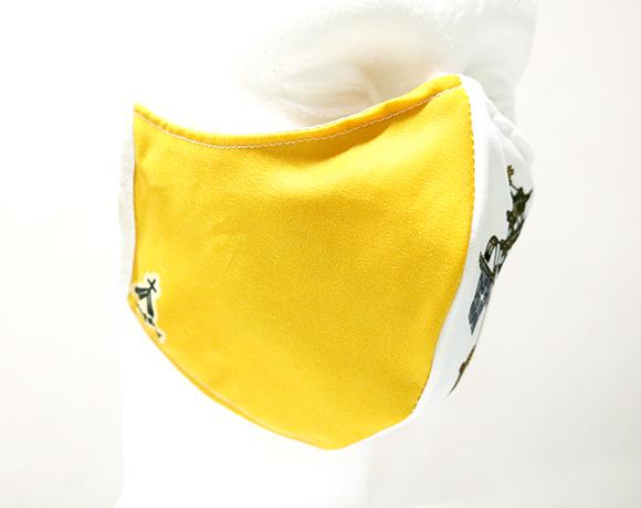 Máscara de Proteção Bico de Pato (EPI) - Brasão Vaticano