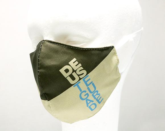 Máscara de Proteção Bico de Pato (EPI) - Frases Populares - DEUS TE GUARDE