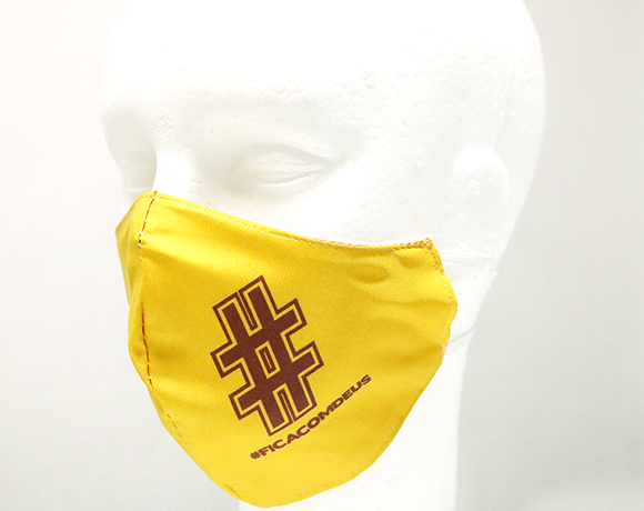 Máscara de Proteção Bico de Pato (EPI) - Frases Populares - DICA COM DEUS