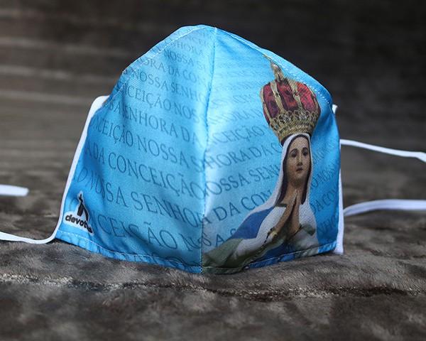 Máscara de Proteção Bico de Pato (EPI) - Imagem Nossa Senhora da Conceição