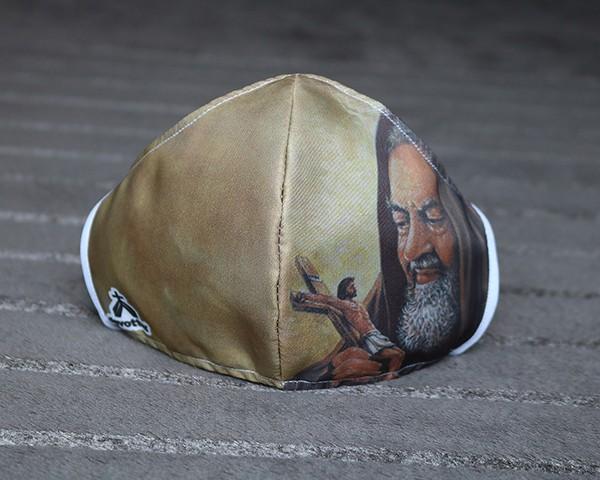 Máscara de Proteção Bico de Pato (EPI) - Imagem São Padre Pio