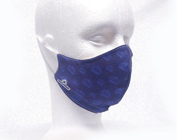 Máscara de Proteção Bico de Pato (EPI) - Minha Mãe, Minha Rainha (Azul)