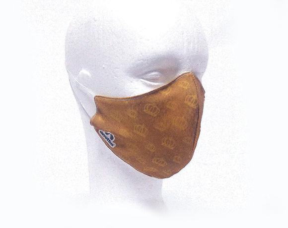 Máscara de Proteção Bico de Pato (EPI) - Minha Mãe, Minha Rainha (Dourada)