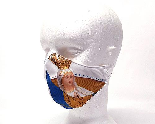 Máscara de Proteção Bico de Pato (EPI) -Nossa Senhora de Fátima e a Lua